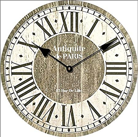 Tinas Collection Wanduhr Antiquite De Paris Shabby 30cm Design