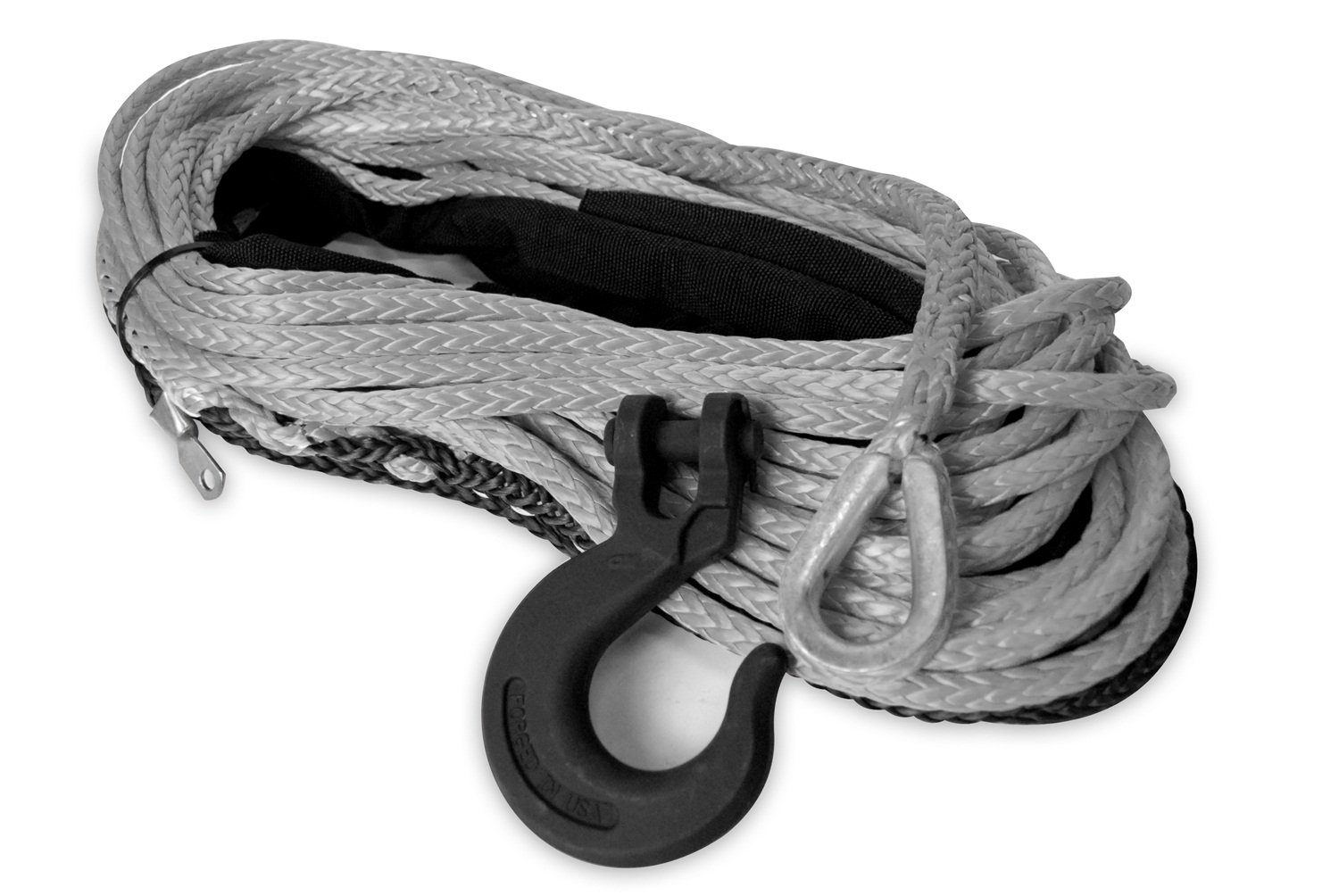 Mile Marker 19-52516-100C 5//16 x 100 Synthetic Rope Assembly