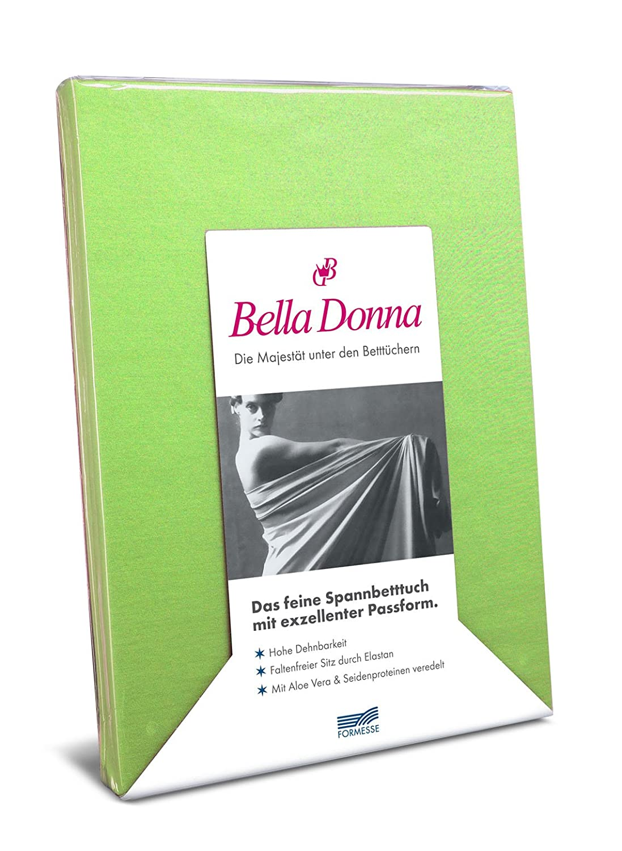 Spannbettlaken Bella Damenschuhe Jersey für Matratzen & Wasserbett 140-160 x 200-220 cm in Apfel