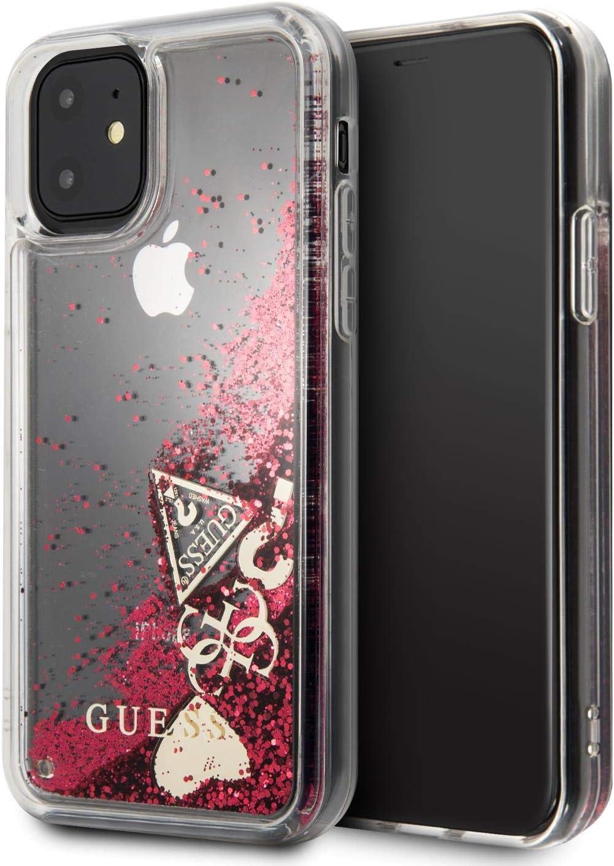 Guess GUHCN61GLHFLR Estándar Transparente, iPhone 11