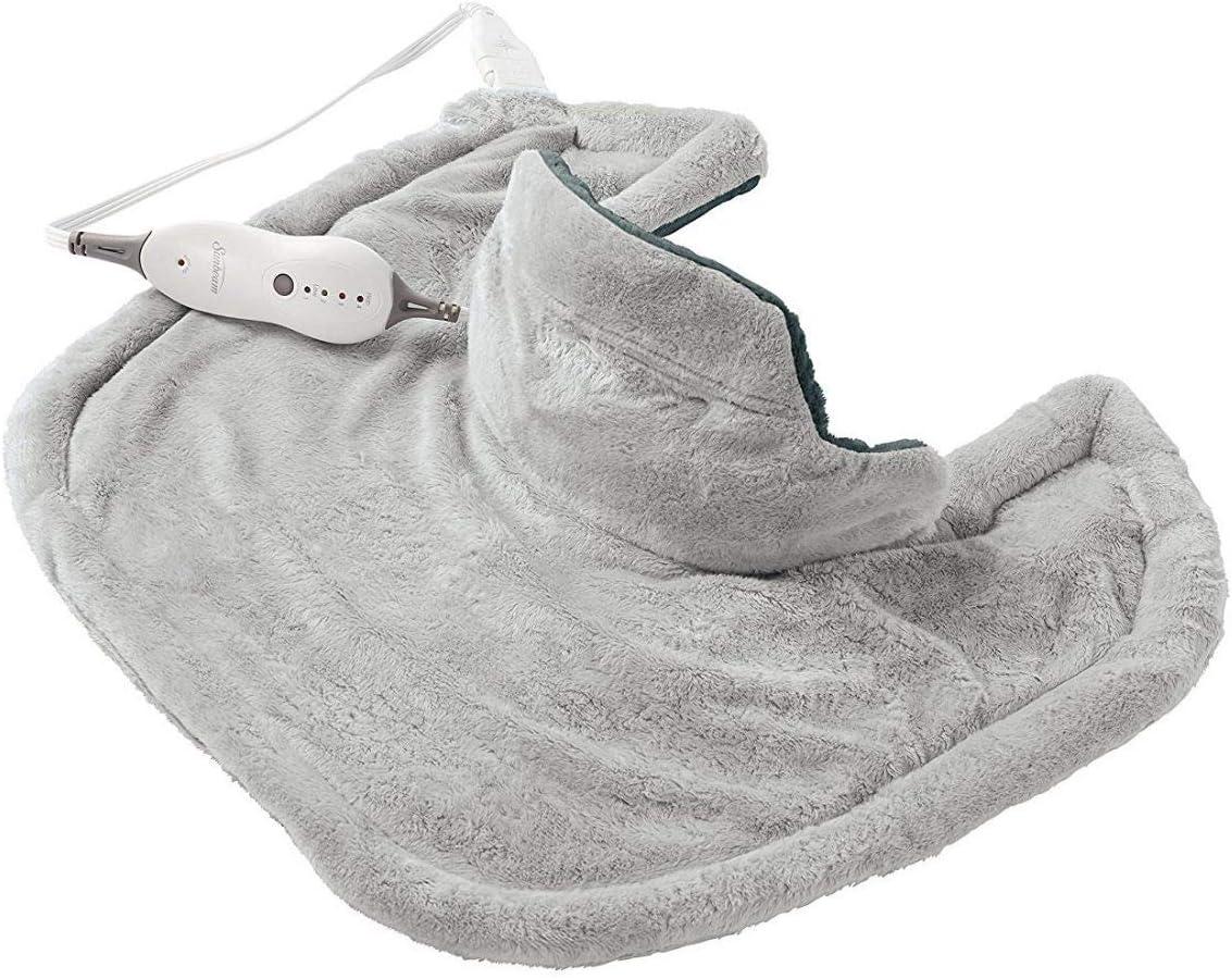 Sunbeam Renue Heat Therapy, Heating Pad, Gray