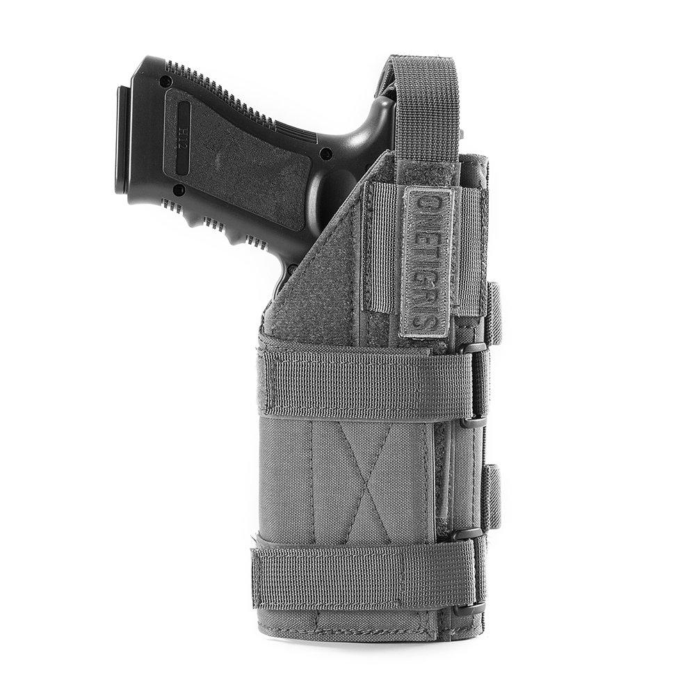 OneTigris Minimalist Pistol Holster for 1911 45 92 96 Glock (Grey) by OneTigris