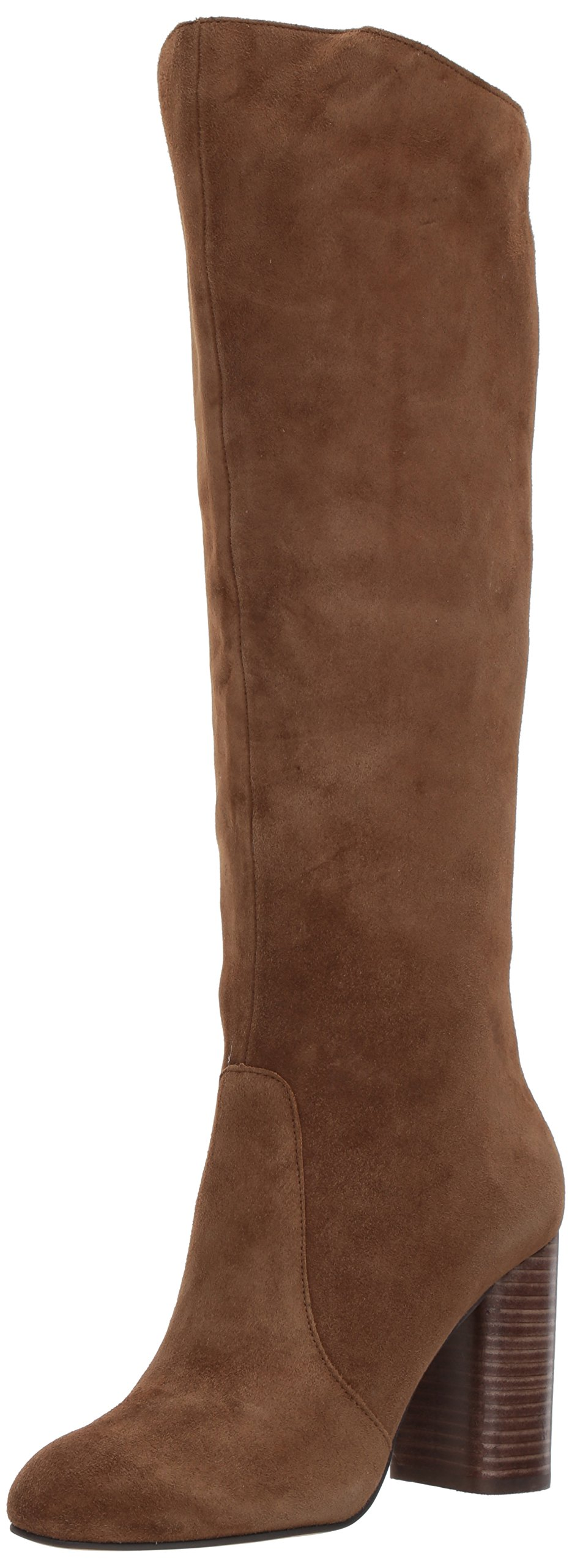 Dolce Vita Women's Rhea Fashion Boot, Brown Suede, 7.5 Medium US
