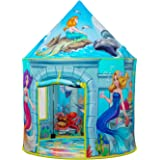 Mermaid Kids Play Tent | Extraordinary Mermaid Under Sea Pop Up Tent for Children Girls & Boys | Enjoy Indoor and Outdoor Ima