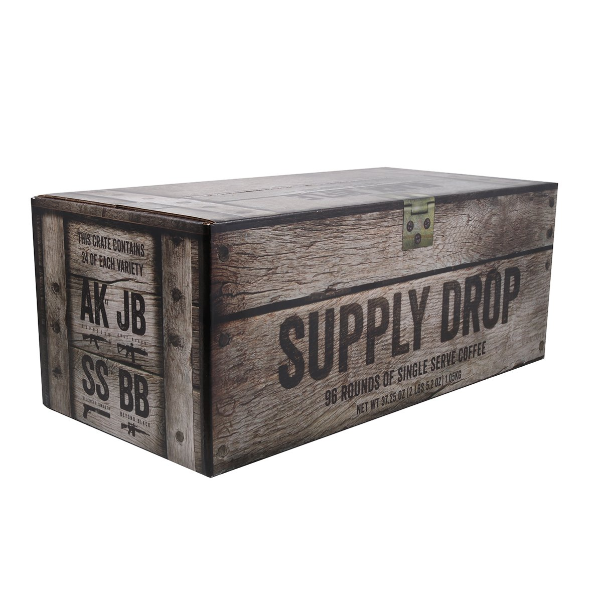 Complete Mission Fuel Kit Coffee Rounds for Single Serve Coffee Brewers (96 Count) by Black Rifle Coffee Company
