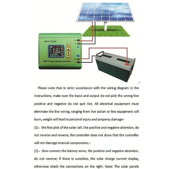Anbau MPPT Solar Charge Controller Battery Regulator Solar ... on