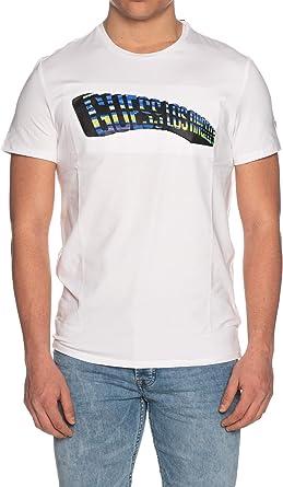 Guess Camiseta para Hombre M0GI63 J1300 TWHT Blanco: Amazon.es: Ropa y accesorios
