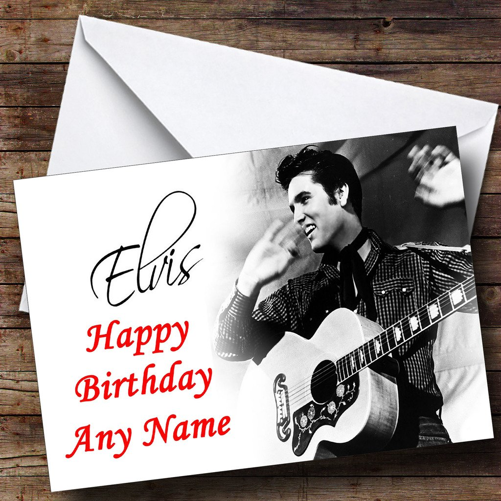 Elvis King Sound Greeting Card Amazon Office Products