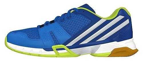 adidas Volley Team 4, Zapatillas de Voleibol para Hombre, Azul (Azuimp/Plamet