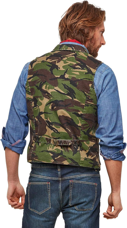 Joe Browns Mens Camouflage Waistcoat with Pockets