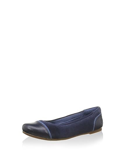 Timberland Damen Millbury Ballerina, blau, 37.5 EU: Amazon