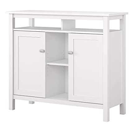 Amazon Com Bush Furniture Broadview Console Table With Storage In