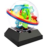 JellyDog Intellect 3D UFO Maze Ball, Labyrinth Globe Toys, 100 Challenging Barriers, Best Gift, Magic Puzzle Game Independent Play for Children 7-15 Years