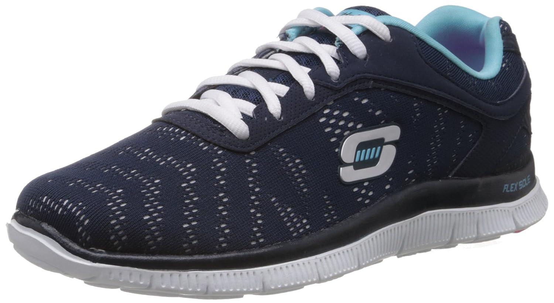 1801c34e0a Damen Laufschuhe Farbe Blau marca SKECHERS modelo Damen Laufschuhe SKECHERS  FIRST GLANCE Blau 009886