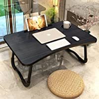 Laptop Desk,Portable Laptop Bed Tray Table Notebook Stand Reading Holder with Foldable Legs & Cup Slot for Eating…