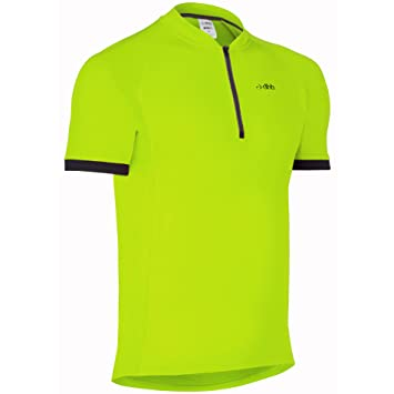 DHB Sport Mens Active Short Sleeve Cycling Jersey Cycle Top Hi Vis Top New  Tags Black 2e5ffa0d7