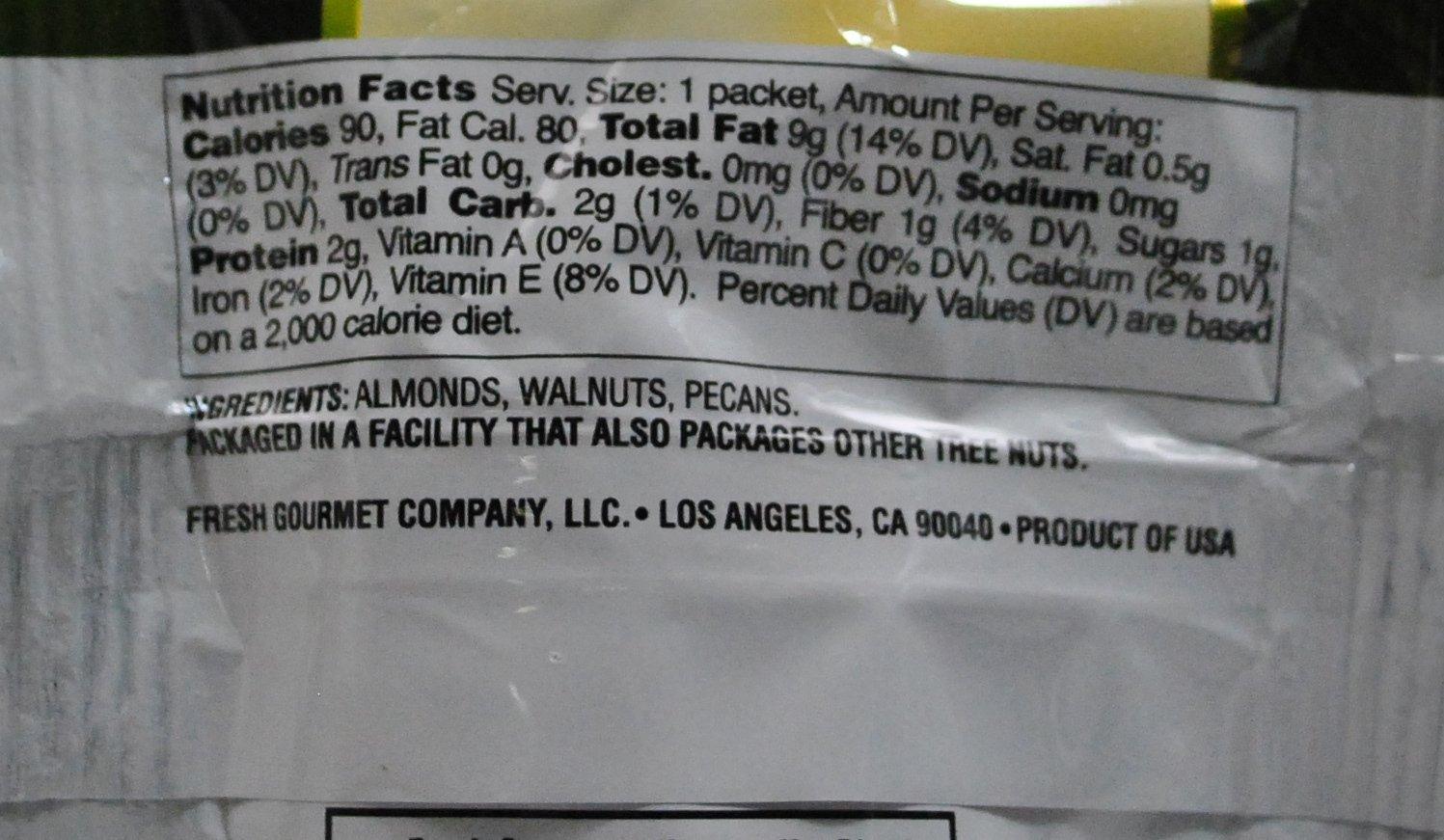 Fresh Gourmet® Harvest Nut Blend (box of 150)