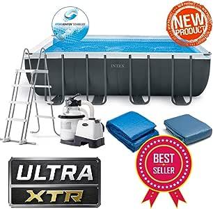 Intex 26356NP - Piscina fuurtera Ultra XTR 549 x 279 x 132 cm + ...