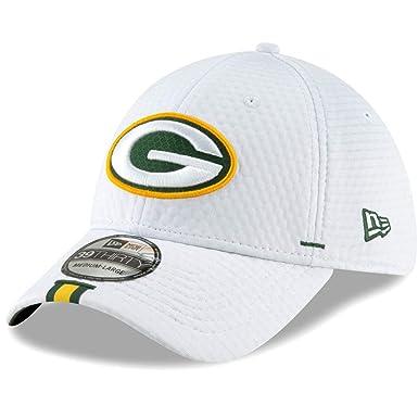 fcfb0c94 New Era 2019 NFL Green Bay Packers Training Camp Hat Cap Flex 39Thirty  12024437