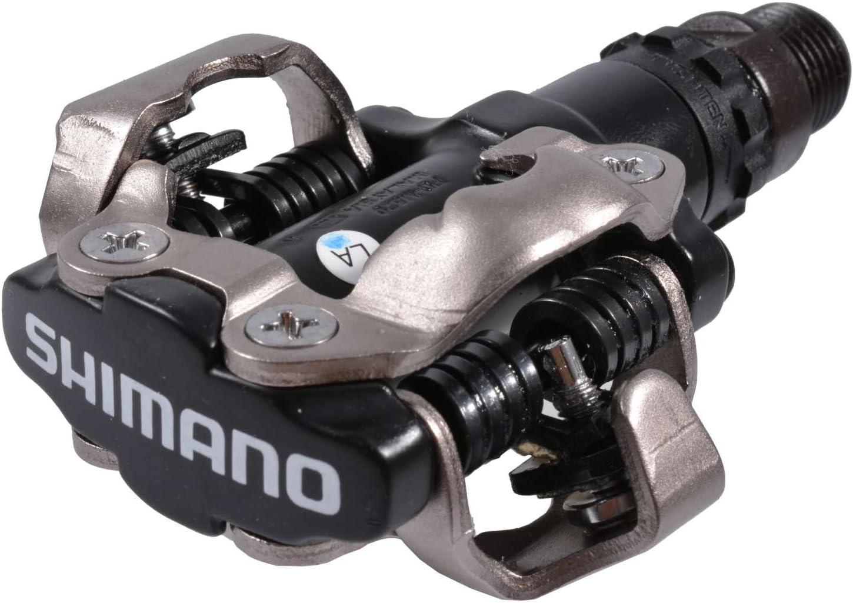 Pedales de MTB, Shimano, M520, SPD, negro: Amazon.es: Deportes y ...