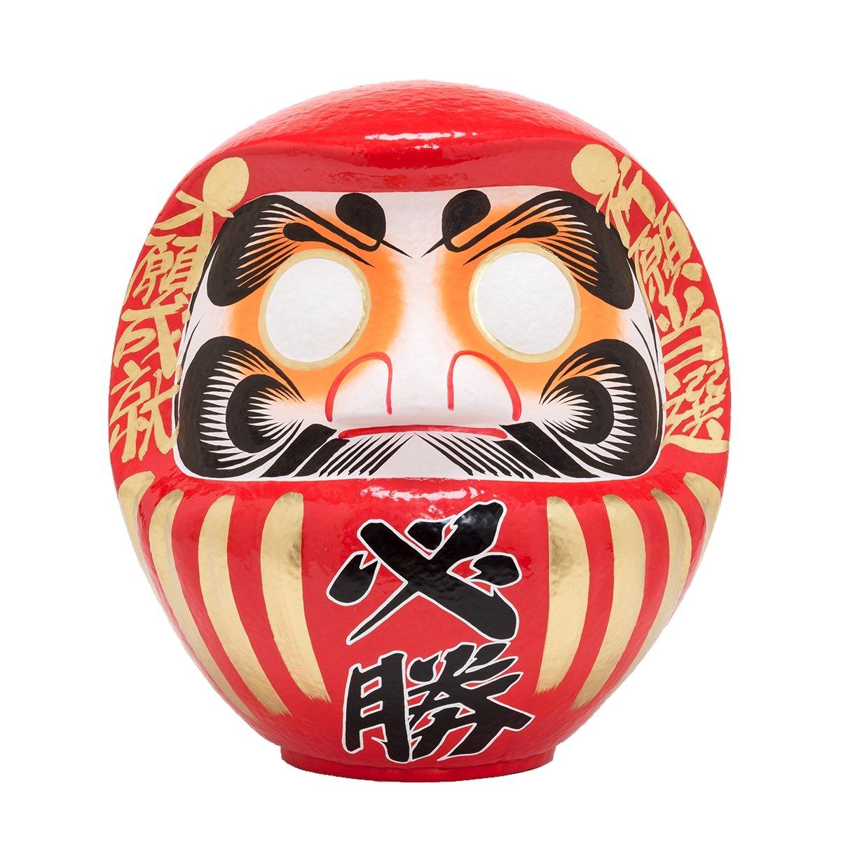 高崎だるま 必勝だるま15号 (選挙用) 赤 B06XZGT8RC