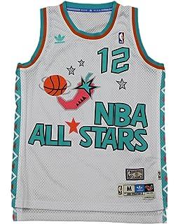 d20b5af9b6d Amazon.com   Shawn Kemp Adidas NBA Throwback 1995 All-Star West ...