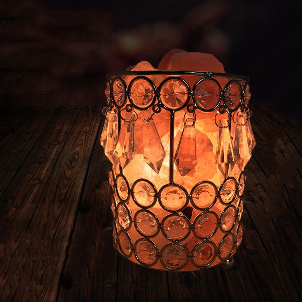 Wenyan Lámpara De Sal del Himalaya Lámpara De Forma Hermosa ...