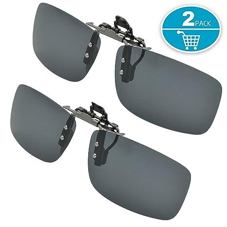 0ad90fc8230 SPLAKS Clip on Sunglasses Polarized Lens