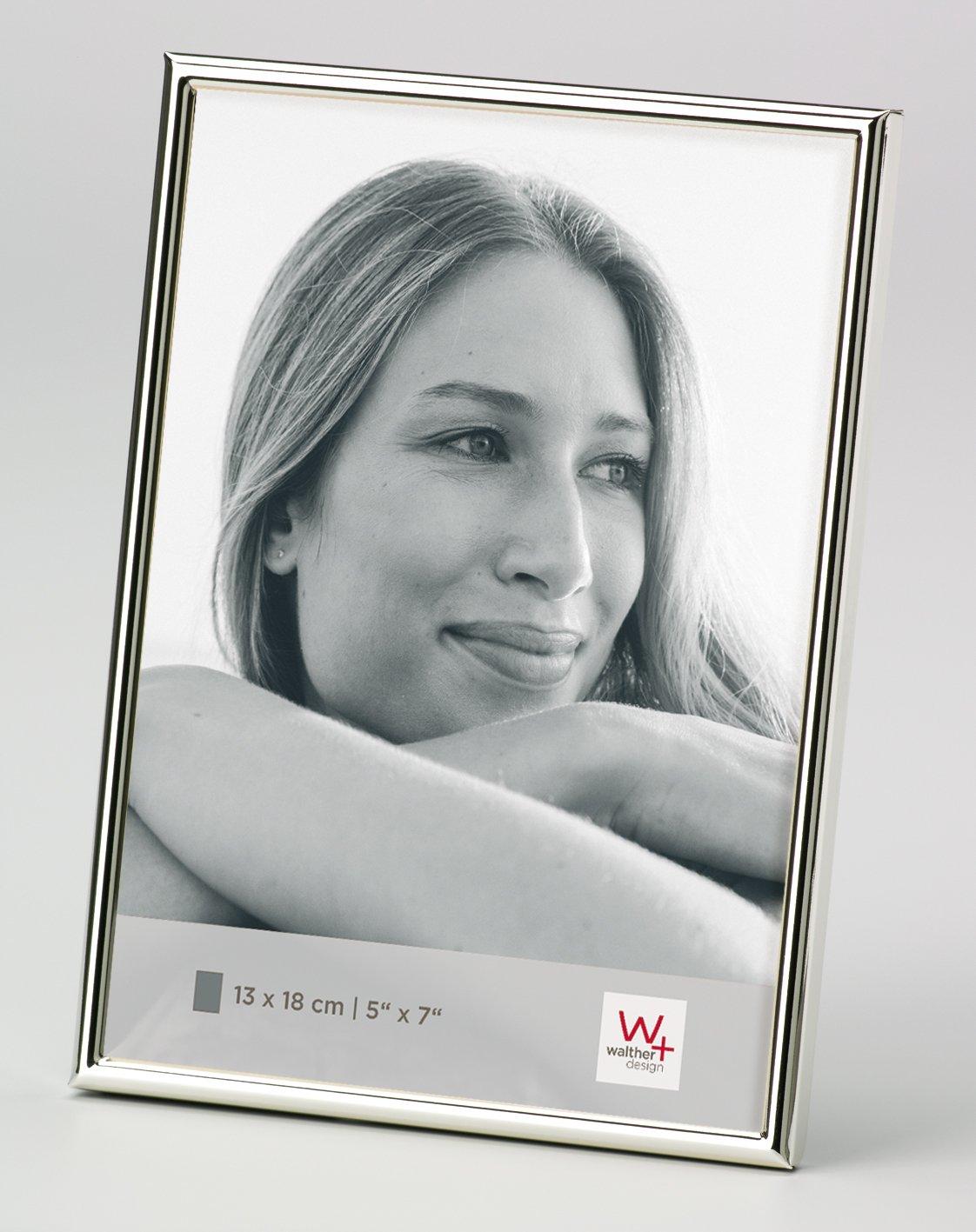 Walther, Chloe, Marco para Retrato, WD338S, Marco Triple, 3x13x18 cm, Plateado: Amazon.es: Hogar