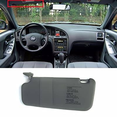 HYUNDAI Interior Sun Visor Shade LH Gray For 2001-2006 Elantra OEM Parts: Automotive