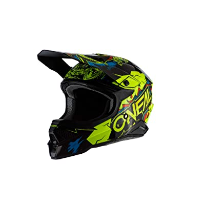 O'Neal 0627-313 3 Series Unisex-Adult Off-Road Helmet (Neon Yellow, M): Automotive