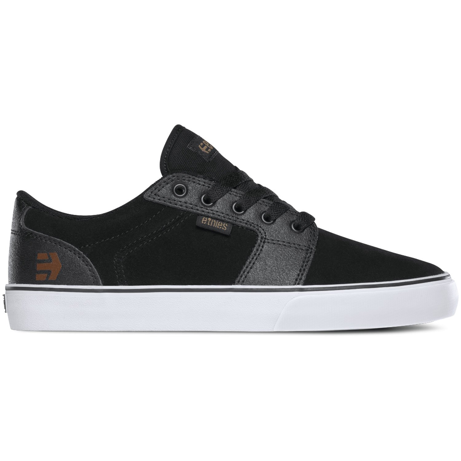 Etnies Barge LS Skate Shoe 12 D(M) US|Black/Gum/White