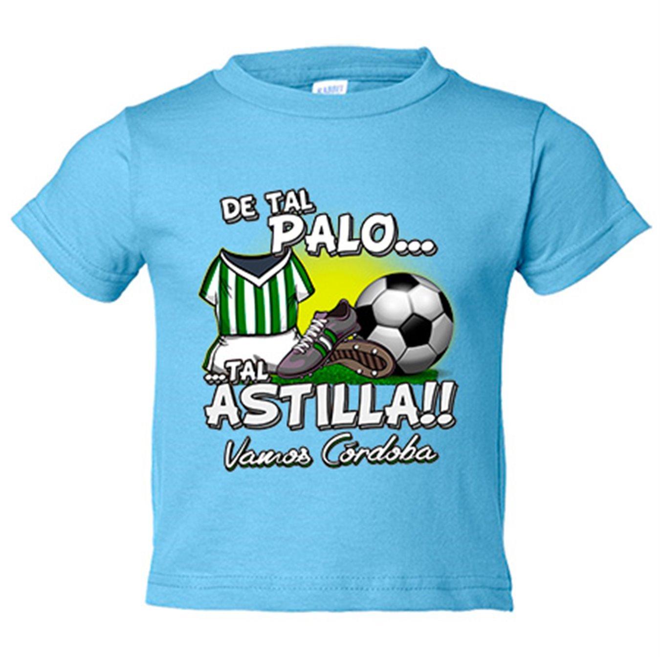 Camiseta niño De tal palo tal astilla Córdoba fútbol - Blanco, 3-4 años: Amazon.es: Bebé