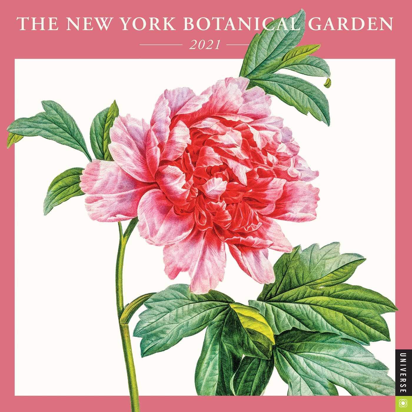 Image for The New York Botanical Garden 2021 Wall Calendar