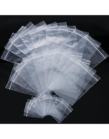 Bolsas de empaquetado de plástico y polietileno | Amazon.es