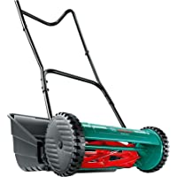 Bosch Manual Garden Lawn Mower AHM 38G (38cm Cutting Width, Grass Catcher Included, in Box)