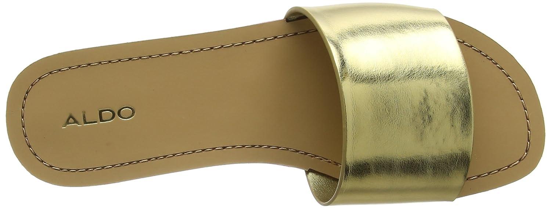 Gwayni, Zapatillas de Estar por Casa para Mujer, Dorado (Gold), 36 EU Aldo