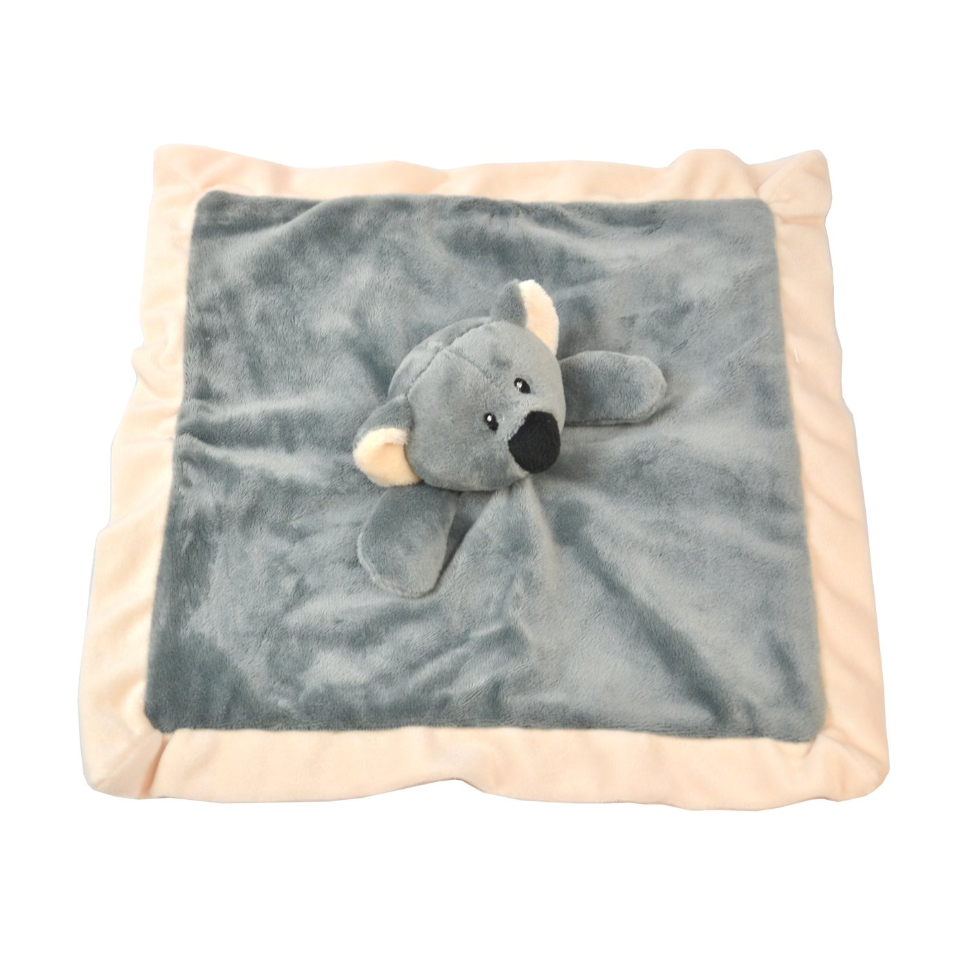 Lovey Security Blanket 12 inch Square Stuffed Animal Baby Blankie for Girls or Boys (Koala) by Baberoo