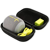 Ultimate Ears WONDERBOOM Bluetooth Speaker Carrying Case, ProCase Travel Bag Hard EVA Protective Cover for UE WONDERBOOM Portable Bluetooth Speaker, with Space for Wall Charger and USB Cable –Black