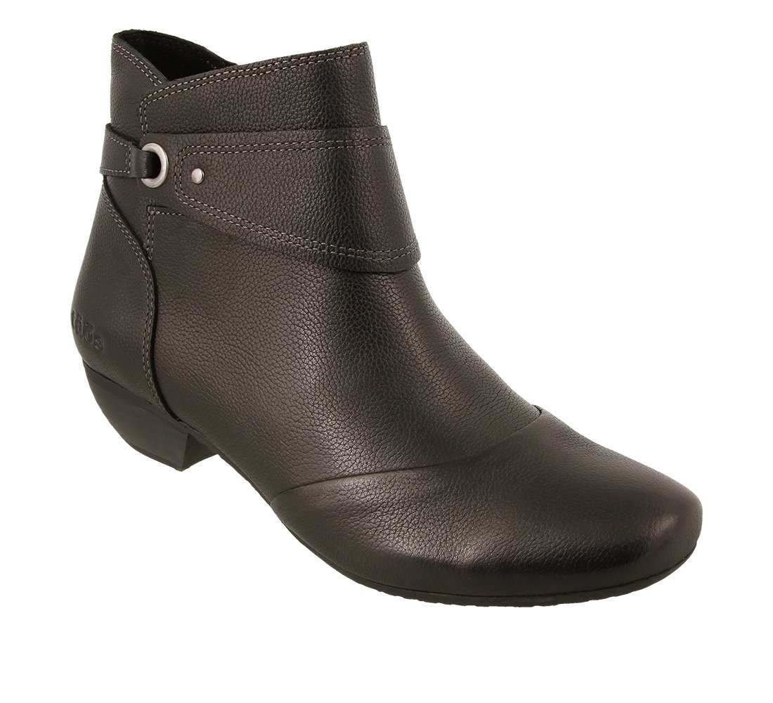 Taos Footwear Women's Image Leather Boot B01N0Y97YC 10 M US|Black Leather