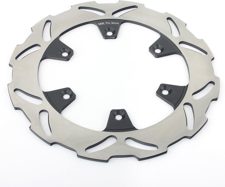 TARAZON Disques de Frein Arri/ère et Plaquettes pour Kawasaki KX 125 250 KX125 KX250 1995-02 KX500 96-04