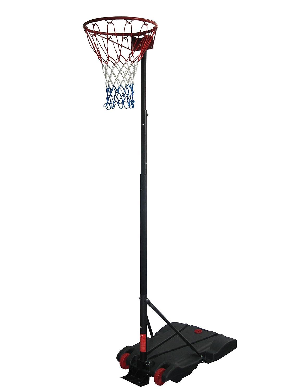 Adulte Netball Système Hauteur 236–305cm. Diamètre 38cm pour intérieur et extérieur (1419) Debut Sport