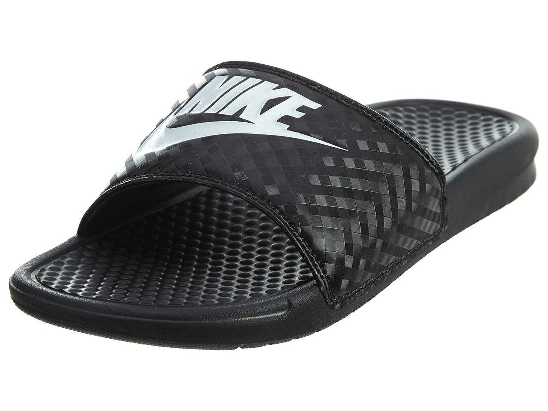 best cheap 817fd 5134a Nike Women's Benassi JDI Slide Sandals Black/White
