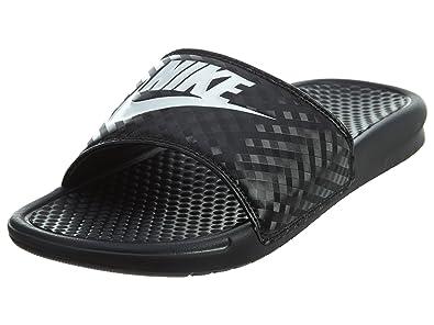 black nike sandals womens