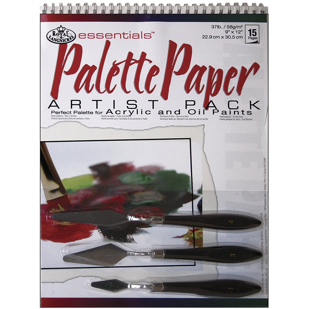 Royal & Langnickel Palette Paper/ Knives Pad Pack RD515