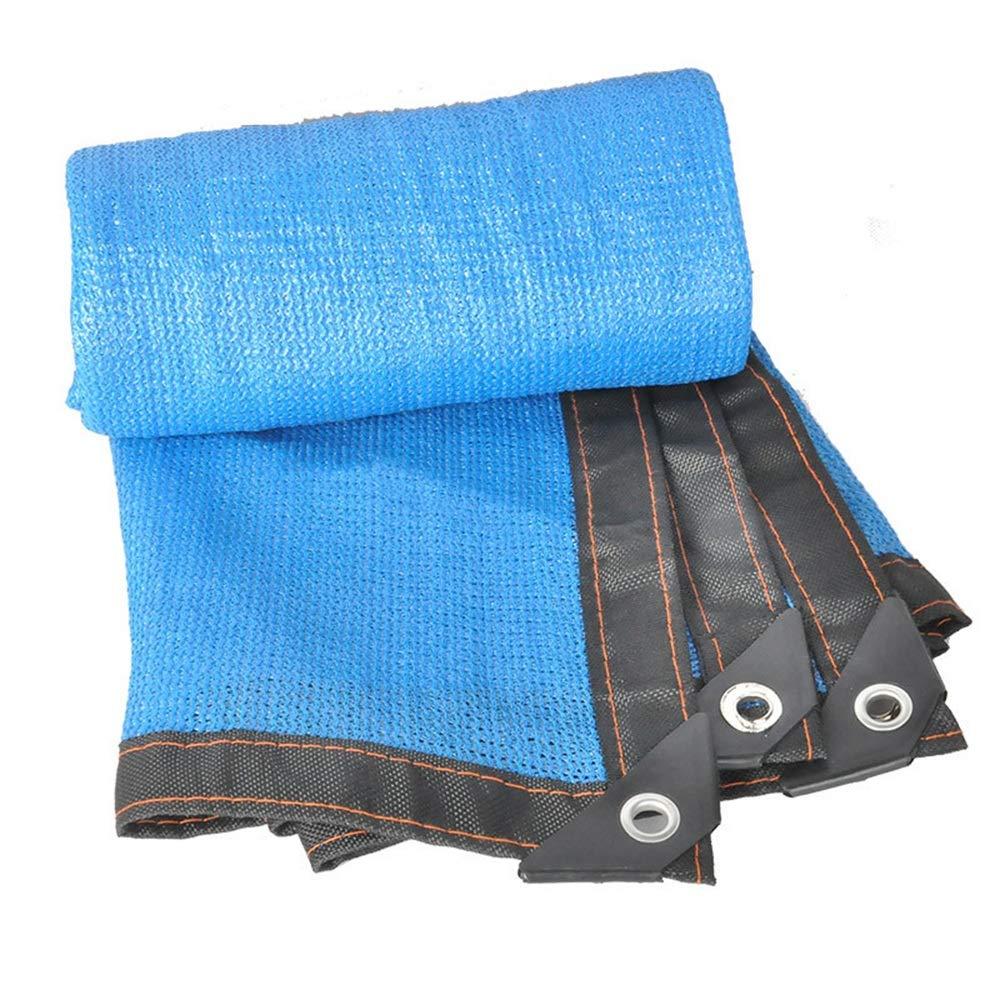 f18b1b88bf463a Tenda da sole Rete di ombreggiatura a 8 Pin - Tessuto Resistente ai Raggi  per Piscina da Giardino con Tetto a Fiori Piscina Blu 23 Dimensioni Blu, ...