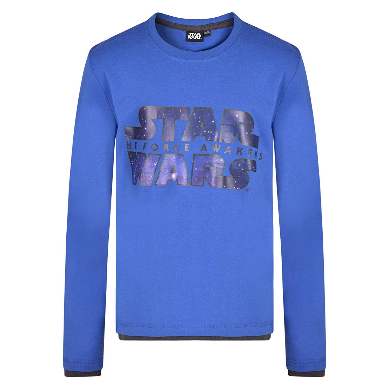 Boys Star Wars Long Sleeve TOP T Shirt 2-15 Years