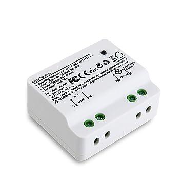 Loratap Funk Einbauschalter Empfänger Bis Zu 2500 Watt Lampen Und