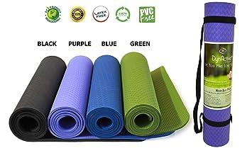 Amazon.com : Yoga Mat by DynActive- 1/4