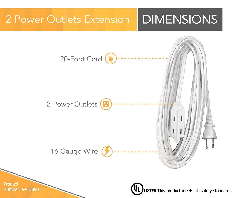 3200K Bright White 6 Pack GU10 Base Sunlite Series 20MR16//GU10//FL//120V//6PK Halogen 20W 120V MR16 Flood Light Bulbs